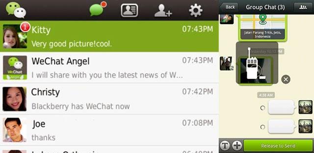WeChat app preview