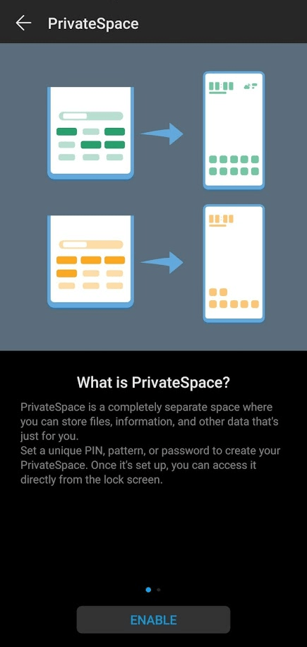 Private Space